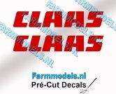 CLAAS-stickers-ROOD-op-transparante-folie-8-mm-hoog-Pré-Cut-Decals-1:32-Farmmodels.nl