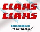 CLAAS-stickers-ROOD-op-transparante-folie-10-mm-hoog-Pré-Cut-Decals-1:32-Farmmodels.nl