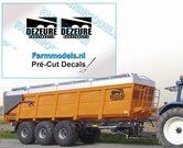 DEZEURE-constructie-ZWART-logo-stickers-op-Transparant-20mm-breed-Pré-Cut-Decals-1:32-Farmmodels.nl