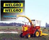 WELGRO-logo-oud-CURSIEF-6-mm-hoog-stickers-Pré-Cut-Decals-ZWART-op-GELE-folie-1:32-Farmmodels.nl