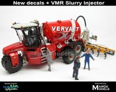 COMBISET:-5x5-VERVAET-Hydro-Trike-XL-RED-TANK-+-5x5-VERVAET-LOGO-+-VMR-VERKRUIMELROLLEN-Bemester-1:32-MM1820-ND