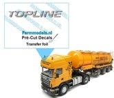 TOPLINE-uit-ZILVER-FOLIE-(Transferfolie)-bedrukt-en-gesneden-5.5-mm-x-46-mm-sticker-via-applicatie-folie-aan-te-brengen