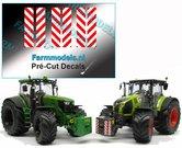 6x-Breedte--Verdrijvingsbord---Verkeer-stickers-ong.-5-x-21.5-mm---Pré-Cut-Decals-1:32-Farmmodels.nl