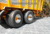 2x-Michelin-Cargo-X-Bib-710-50-R30.5-banden-met-aluminium-gedraaide-velgen-Ø-45.7-mm---EXPECTED