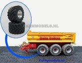 2x-Aluminium-Velgen-+-Michelin-MEGA-Xbib-band-(Alu.-velgen-Ropa-klein)-Ø-53.1-mm--geschikt-voor-de-ROS-(stuur)-assen-EXPECTED
