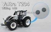 29002-VG-Planeetkappen-Ø-9-mm-Valtra-T234-Grijs-Wit-metaal-1:32