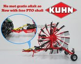 Kuhn-GA9531-dubbele-rotor-hark--duiner-1:32-UH4197---EXPECTED