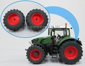 44839-F+B-Aluminium-achteras-velgen-Fendt-828-Facelift-Rood-+-brede-band--geschikt-voor-de-Fendt-828-Facelift-Wiking-Verwacht