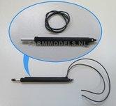 20236-3D-Cilinder-zwart-Lengte-in:-55-mm-Lengte-uit:-95-mm-Ø-3.88-mm-+-20cm-hydroliekleiding-Ø-0.8-mm