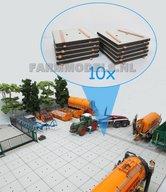 10x-Stelconplaten-afm.-62.5-x-62.5-x-4-mm--Farmmodels-Editie-1:32