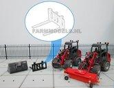 50351-Palletvork-setje-bouwkit-t.b.v.-snelwissel-set-nr.-50300-50325-Mini-shovel-(Weidemann-Siku)-1:32