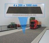 Asfalt-weg-20-cm-x-100-cm-Farmmodels-editie-1:32-EXPECTED