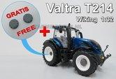 58116**-Valtra-T214-Blauw-1:32-Wiking-2015-met-gratis-eindvertragingen-WK77814