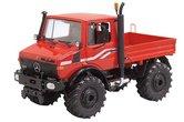 64113--Mercedes-Benz-Unimog-U1600-Rood-Oranje-1:32-Schuco-2015--