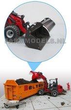 50358-Kuilhapper-bouwkit-t.b.v.-snelwissel-set-nr.-50300-50325-Mini-shovel-(Weidemann-Siku)-1:32