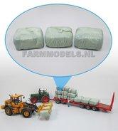 78550-3x-Gewikkelde-Grootpers-BIGPACK-Pak-Kuilgras-Baal-Pak-gewikkeld-in-echte-landbouwfolie-1:32