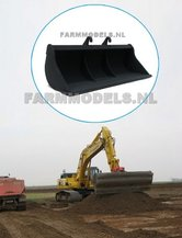 Afwerkbak-90-mm-breed-voor-snelwisselset-68000-68025-Rupskraan-ROS-New-Holland-Hitachi-etc.-1:32
