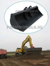68095-Afwerkbak-115-mm-breed-voor-snelwisselset-68000-68025-Rupskraan-ROS-New-Holland-Hitachi-etc.-1:32