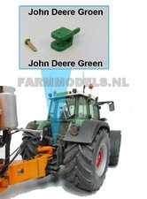 GREEN-Topdrukcilinder-trekhaak-koppeling-John-Deere-Groen-met-pen-speciaal-voor-de-topdrukcilinderset-VMR-Veenhuis-1:32