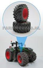 39011-F+B-Aluminium-vooras-velgen-Fendt-1050-Rood-+-brede-band--voor-Fendt-1050-Wiking
