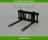 Palletvork-set-New-Holland-Shovel-ROS-BOUWKIT-1:32-voor-koppeling-snelwissels-55001-t-m-55050-&-Volvo-VAB-STD