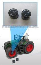 29061-G-Planeetkappen-Fendt-Donker-Grijs-Ø-12.7-mm-Planetaire-eindvertraging-vooras-voor-Farmmodels-velgen-Fendt-1050--939-Facelift-(H)