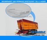 Jan-Veenhuis-Opzetschot-t.b.v-2-asser-haakarm-Silagebak-landbouwbak-Carrier-Bouwpakket-1:32