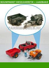 28001-Bouwkit-Dieselkarretje-+-enkelasser-laadbakje