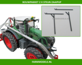 2x-steun-zaaipijp-BOUWKIT-nu-in-Zwart-kunststof-t.b.v.-Ø-5-mm-pijp-van-Front-tank-naar-zaaimachine-1:32