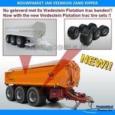 JVZK-36000-Jan-Veenhuis-zand-Kipper-36000-Bouwpakket-nu-met-Vredestein-Flotation-Trac-800-45-R30.5-banden-+-Metallic-Alu.-gespoten-velgen-+-BPW-eindnaven-1:32--Farmmodels-Primium-line