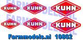 KUH-10802-Kuhn-stickerset-2x-0.75mm-2x-0.9mm-2x-1.2-mm-breed-1:32