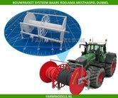 24904-Systeem-Baars-Roelama-Slang-Haspel-dubbele-brede-rol-Bouwkit-1:32