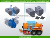 24631-Verzamelbakkenset-Mest-t.b.v.-verdringerpomp-geschikt-voor-Ø-5-mm-&-Ø-7-mm-bouwkitje-1:32