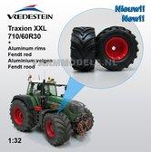 Fendt-926-930-ROOD-Aluminium-vooras-velg-+-Vredestein-Traxion-XXL-710-60R30-brede-banden-1:32