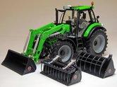 Deutz-Agrotron-6190-TTV-met-Groene-DEUTZ-Voorlader-1:32--MW1046-Deutz