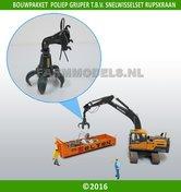 68044-Poliepgrijper-bouwkit-voor-snelwisselset-68000-68025-1:32-bijvoorbeeld-New-Holland-en-Hitachi-rupskraan-van-ROS