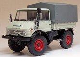 64116-Unimog-406-Cabrio-(U84)-Grijs-Wit-(1971-1989)-1:32