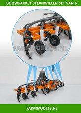 6x-Steunwielen-t.b.v.-Terraject-300-VMR-Veenhuis-Bouwpakket-Buildingkit-1:32