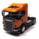55007-Scania-R470-Oranje-Welly-1:32-Leverbaar-uit-voorraad-OP=OP