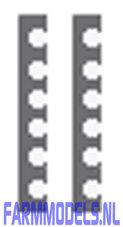 20122-2x-hydro.-leidinghouder-klem-beugel-groot-voor-Ø-16-mm-leidingen