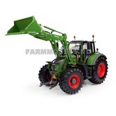 Nature-Green-Fendt-722-+-5X-90-CargoProfi-voorlader-1:32-UH4975