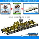 24943**-COMBI-SET:-24940-+-24941-+-24942:-Bouwpakket-VMR-Veenhuis-Terraject-300-+-Steunwielen-+-Kooi-rollenset-1:32-STUNTPRIJS
