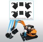 4x-Extra-Lippen-+-2x-afstandplaten-t.b.v.-snelwissel-minigraver-nr.-60300-60325-voor-montage-op-eigen-bakken-hulpstukken-1:32