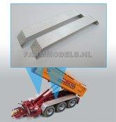 29976-2x-Aluminium-traanplaat-spatborden-(Vredestein)-3-asser-asafstand-1:1-180-cm-25-mm-x-165-mm