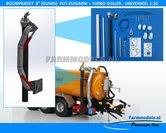 24472-8-(DUIMS)-Put-Zuigarm-+-Turbovuller-Unit-+-Hydroliekpomp-Bouwkit-Premium-Line-beweegbaar-Universeel------------------------el-1:32