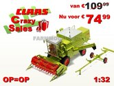 CLAAS-Dominator-85-met-Cabine-1:32-Supersale!-Last-ones