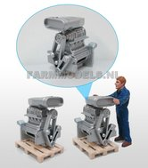 21939-Motorblok-groot-met-turbo-inlaat-1:32