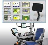 21244-Display-met-steun-zwart-kunststof-t.b.v.-GPS-Autopilot-Trimble-etc.-1:32