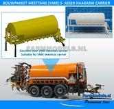 25050-Carrier-Mesttank-+-hefinrichting-BOUWPAKKET-t.b.v.-(VMR-Veenhuis)-Haakarm-carrier-bouwpakket-basis-1:32
