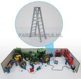 82912-Dubbele-Ladder-A-vorm-aluminium-1:32